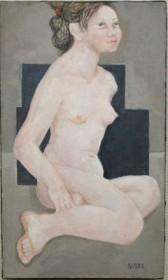 古茂田美津子 「裸婦」