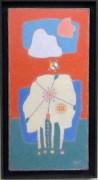 「空に向かって」5H(40×20cm)