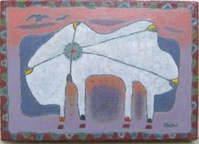 「たそがれ」SM(22.7×15.8cm)