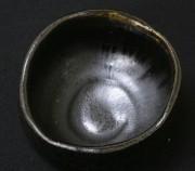 黒高麗茶盌見込み